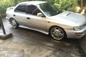 Subaru Impreza RX Edition 1996 4D Sedan Manual 2L Multi Point F INJ in NSW