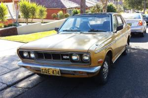 1973 Datsun 180B AIR Conditioning Rare Classic Auto Suit 120Y in NSW