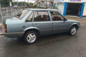 Vauxhall/Opel Nova GL 4 DOOR SALOON
