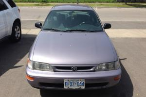 Toyota : Corolla DX