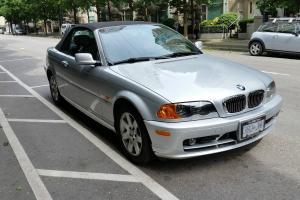 BMW : 3-Series Black Top Convertible