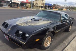 1979 Smokey AND THE Bandit Trans AM V8 4 Speed Firebird