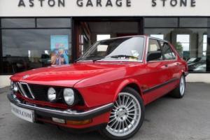 1986 D BMW 5 SERIES 3.4 535I 4D AUTO 182 BHP