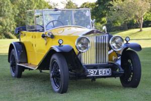 1928 Rolls Royce 20hp Tourer.