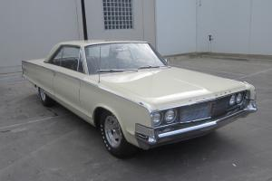 1965 Chrysler Newport 383V8 Automatic P Steering P Brakes Orig Leather Interior