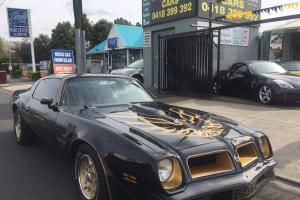 Pontiac Trans AM Rare Factory Hurst T TOP SE Immaculate Order