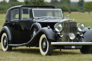 1939 Rolls Royce Phantom III Crocodile Roof Sedanca