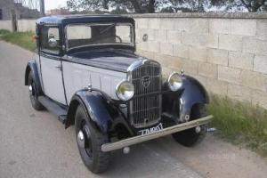 Peugeot 201 COUPE DOCTOR 1933