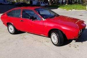 Alfa Romeo Alfetta GTV 2 0 1981 Classic RED Rare in WA Photo