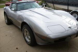 Chevrolet : Corvette Silver Aniversary