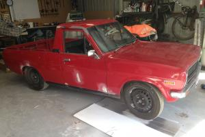 Datsun 1200 UTE A12 Running Registered Good Project GAS in VIC