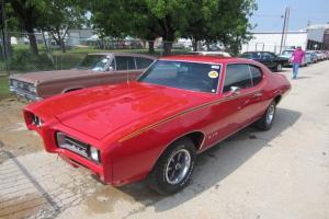 1969 Pontiac GTO 400V8 Automatic P Steering AIR Cond Nice Original Conditon