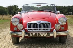 1958 MGA ROADSTER WITH 1950 TUNED ENGINE+5 SPEED GEARBOX LHD