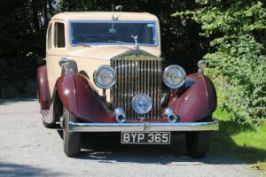 1935 Rolls-Royce 20/25 Lancefield Saloon GOH9