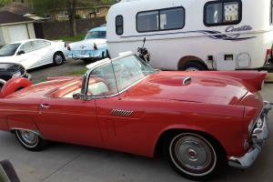 Ford : Thunderbird 2 Door convertible with soft and hard top