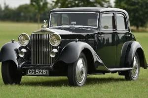 1933 Rolls Royce Hooper Sports Saloon.