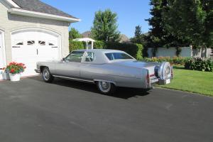 Cadillac : DeVille 2 door coupe de ville