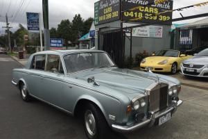 Rolls Royce Silver Shadow MK 1 4 DR Automatic Aust Delivered With Books