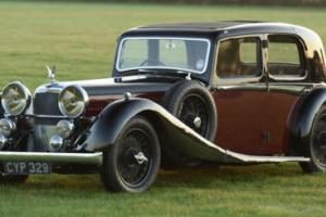 1936 Alvis Speed 20 SD 3.5 litre Sports Saloon by Charlesworth Photo