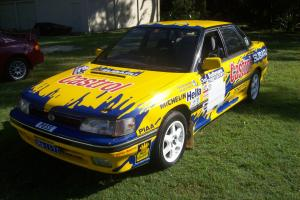 Subaru Liberty Legacy RS Turbo 1989 Replica Possum Bourne Rally CAR Photo