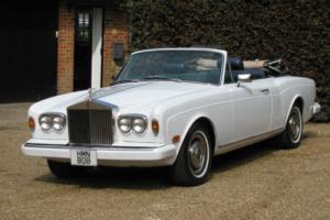 1978 Rolls Royce Corniche Convertible LHD