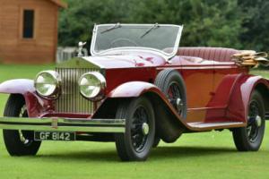 1930 Rolls Royce Phantom II Lincoln Tourer.