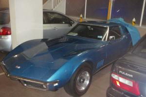 Chevrolet Corvette Stingray 1968 2D Coupe Manual 5 4L Carb Seats in QLD