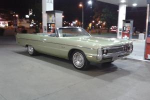 Plymouth : Fury fury 111 convertible