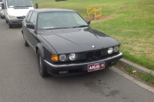 WOW BMW Manual 7 Series E32 735i BIG 535i E34 E30 E28 in VIC Photo