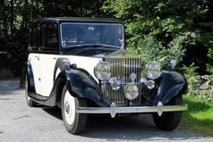 1935 Rolls-Royce 20/25 Arthur Mulliner Limousine GBK51 Photo