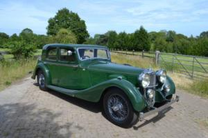 1937 Alvis 4.3 Litre Sports Saloon by Charlesworth Photo