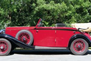 1934 Rolls-Royce 20/25 Martin Walter Cabriolet GED67