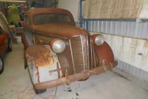 1937 Dodge 2 Door Right Hand Drive Humpback HOT ROD