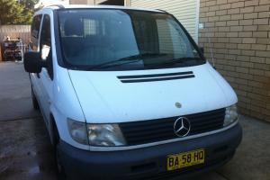 Mercedes Benz Vito VAN 113 2001 Model 4 Speed Auto in NSW