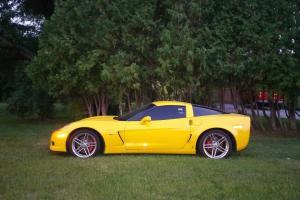Chevrolet : Corvette Z06 HARD TOP COUPE 3LZ