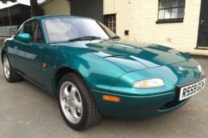 1998 Mazda MX-5 1.8i Berkeley Roadster Hardtop Leather **1 OWNER, 18000 MILES**