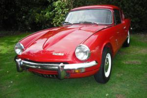 Stunning Triumph GT6 MK 2 Overdrive 3rd & 4th Signal Red