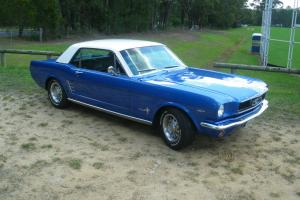 Ford Mustang 1966 2D Hardtop Automatic 4 7L Carb Seats in NSW