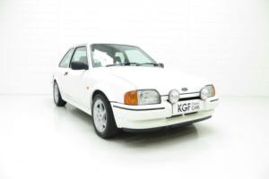 An Incredible Ford Escort RS Turbo Series 2 with Just 39,022 Miles
