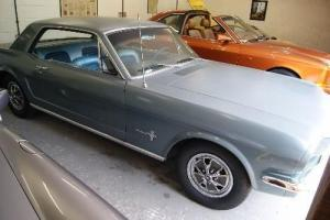 1966 Ford Mustang 200ci manual one family owned from 1966 to 2013 REALLY LOVELY