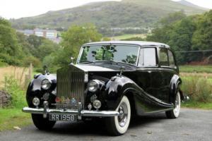 1958 Rolls-Royce Silver Wraith Limusine GLW11 Photo