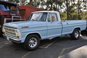 1968 Ford F 250 Pick UP Long BED 390 V8 C 6 Trans NOT A Mustang Camaro