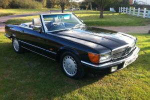 1986 Mercedes-Benz 300SL R107 3.0 188 BHP Sports Auto Photo