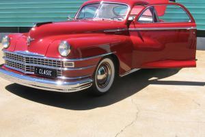 1948 Chrysler Windsor Businessmans Coupe Hemi in QLD