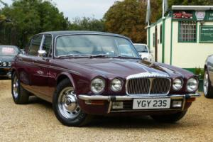 1977/S DAIMLER DOUBLE SIX 5.3 VDP - MASSIVE HISTORY FILE FROM DAY 1 - ONLY 65K Photo
