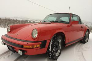 Porsche : 911 SC Targa Photo