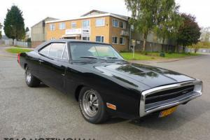 1970 Dodge Charger R/T V8 Auto Black **FULLY RESTORED**