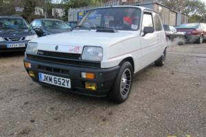 RENAULT 5 ALPINE TURBO LHD 5 GORDINI TURBO. STUNNING CAR!