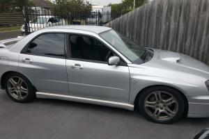 Subaru Impreza WRX AWD 2003 4D Sedan Manual 2L Turbo Mpfi 5 Seats in VIC