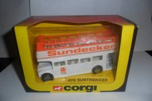 corgi 478 routemaster bus suntrekker boxed 1983 Photo